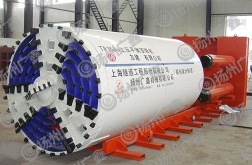 隧道土压平衡顶管机